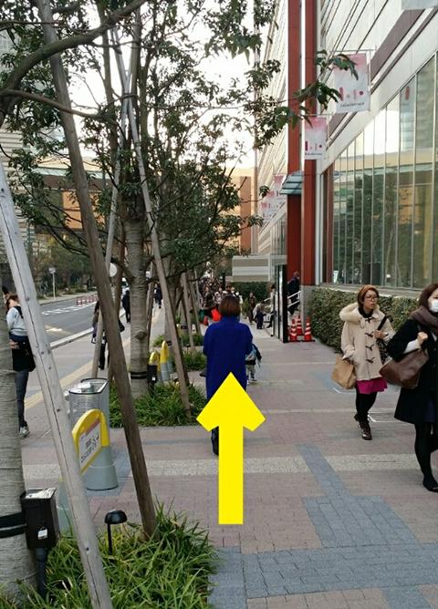 武蔵小杉駅、東急東横線、目黒線ルート.7