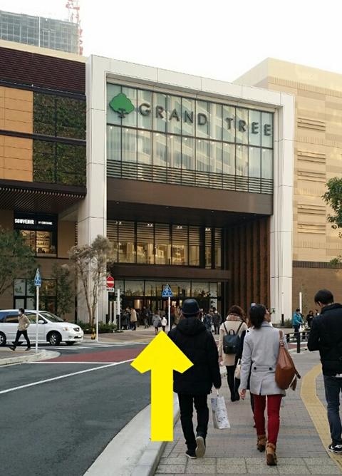 武蔵小杉駅、東急東横線、目黒線ルート.8
