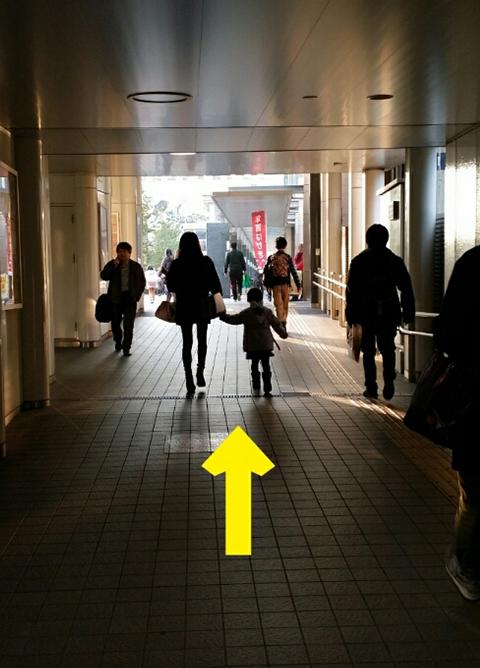 武蔵小杉駅JR横須賀線から.3