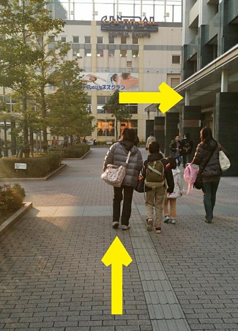 武蔵小杉駅JR横須賀線から.4