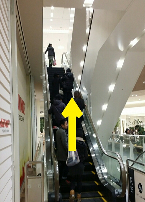 武蔵小杉駅JR横須賀線から.9