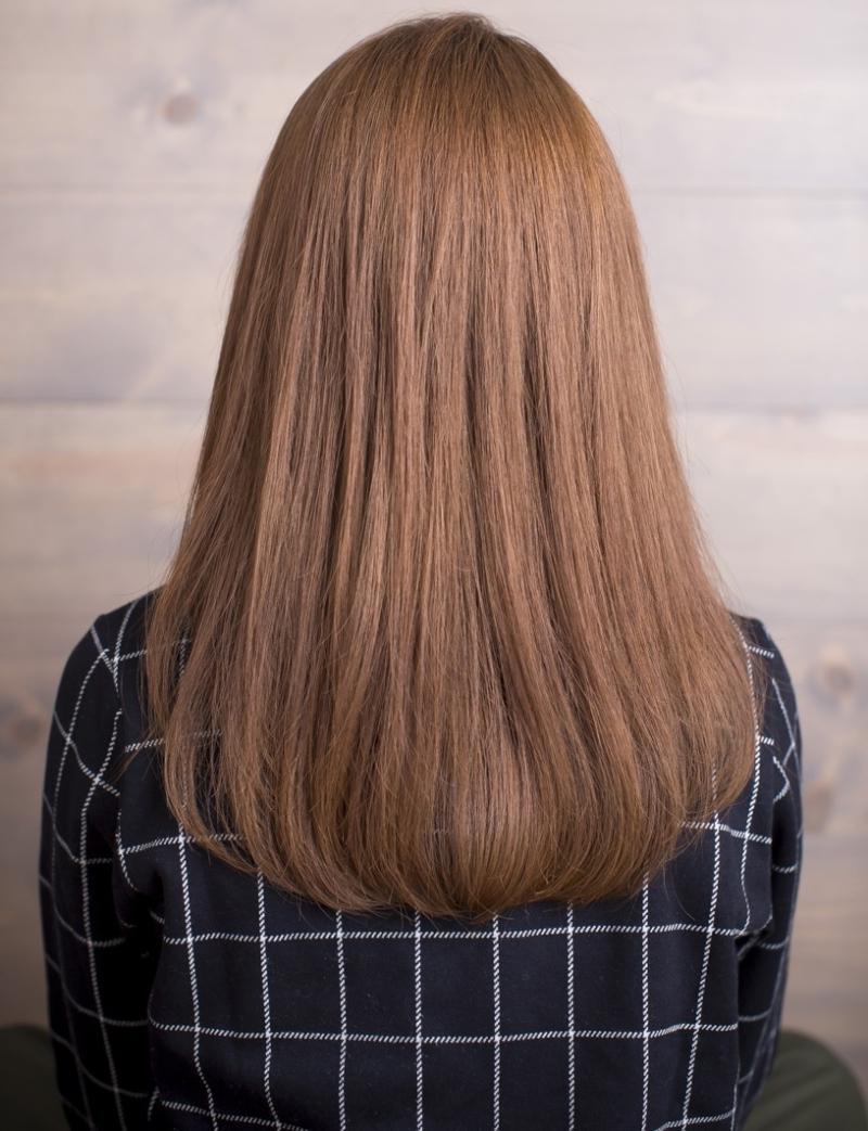 髪へのダメージ最小限