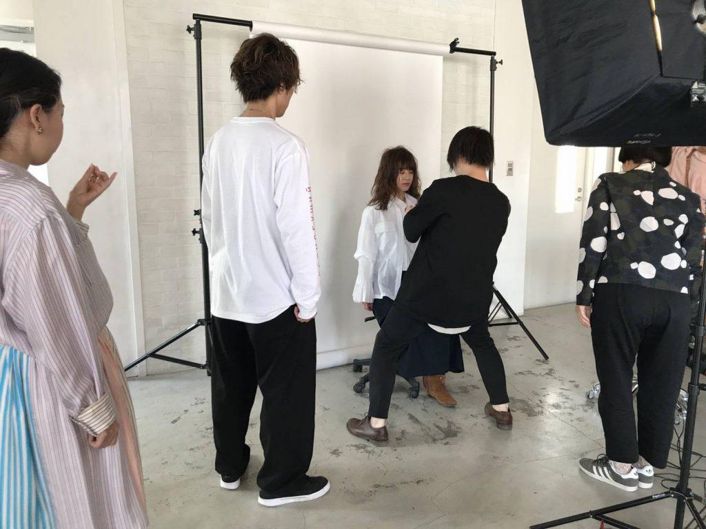 リアルパーマ撮影〜7月に発売予定