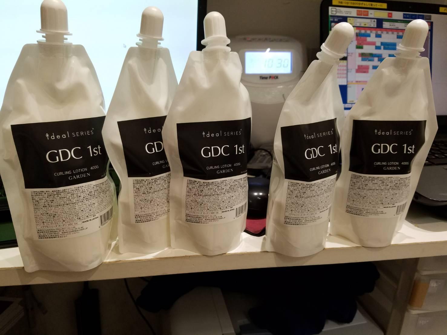 GDCパーマ液