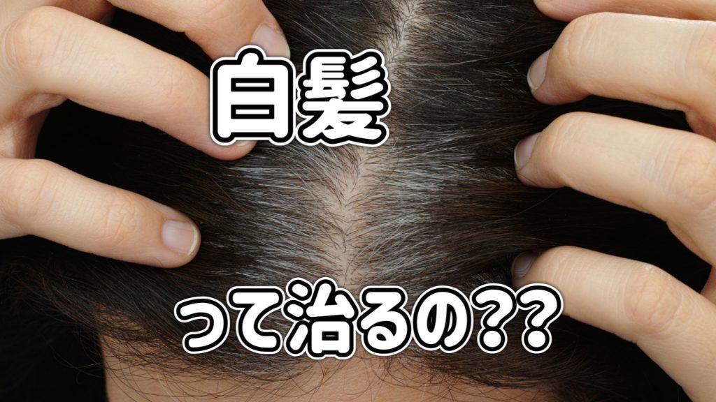 【白髪予防と対策】本気の人だけ読んで頭皮!マッサージや食事療法より手っ取り早く、より確実な方法とは?