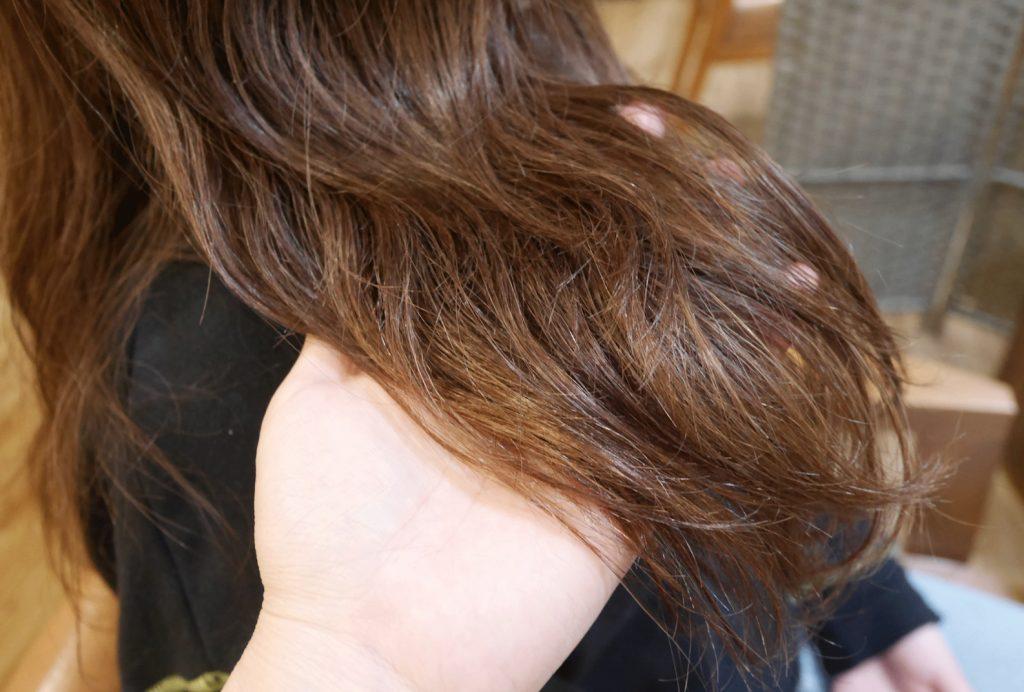 サミートリートメント(酸熱)とパーマの相性は悪い?パーマヘアからサラサラ髪を目指せるか検証
