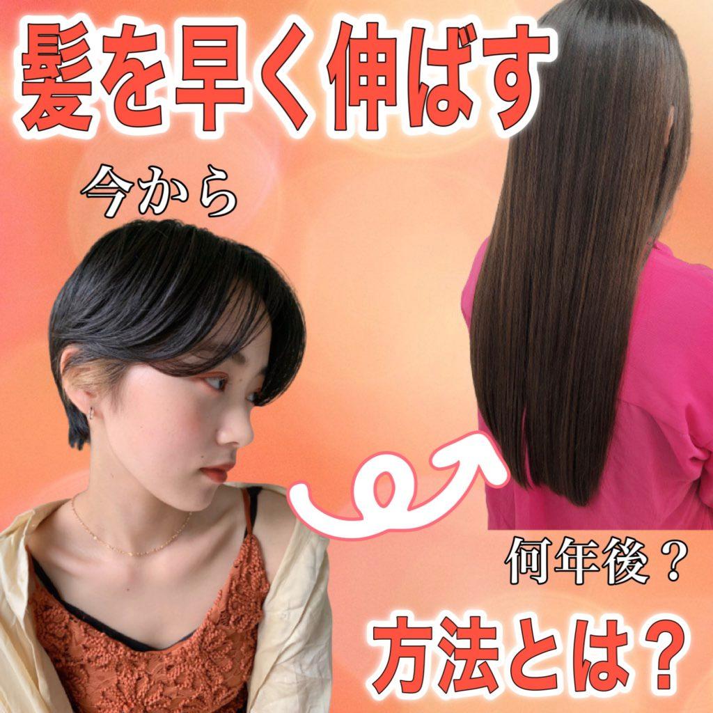 髪を早く伸ばす方法を美容師が解説!食べ物や育毛剤よりも「習慣」が大事!
